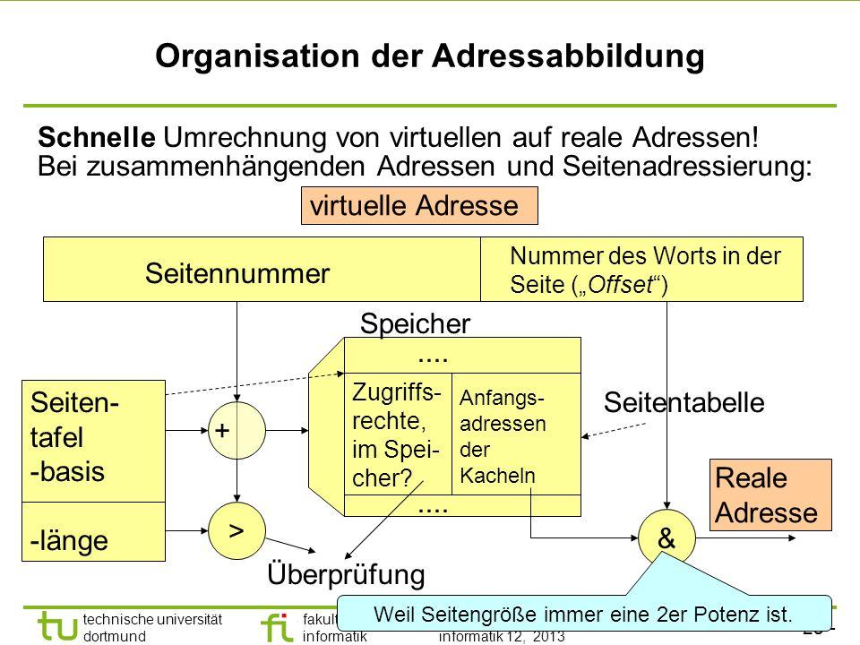 - 24 - technische universität dortmund fakultät für informatik p. marwedel, informatik 12, 2013 Vorteile Man muss sich nicht vorab überlegen, welchem