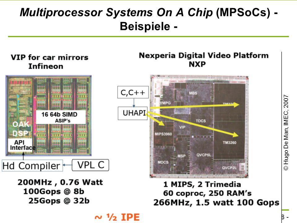 - 27 - technische universität dortmund fakultät für informatik p. marwedel, informatik 12, 2011 Microcontroller - Beispiel: der MHS 80C5 - 8-bit CPU o