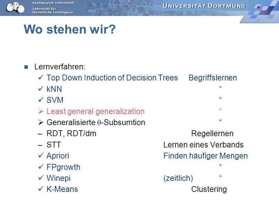 Beispiel Beispiele neu: oma(anna, christof):- mutter (anna, bernd), vater(bernd,christof).