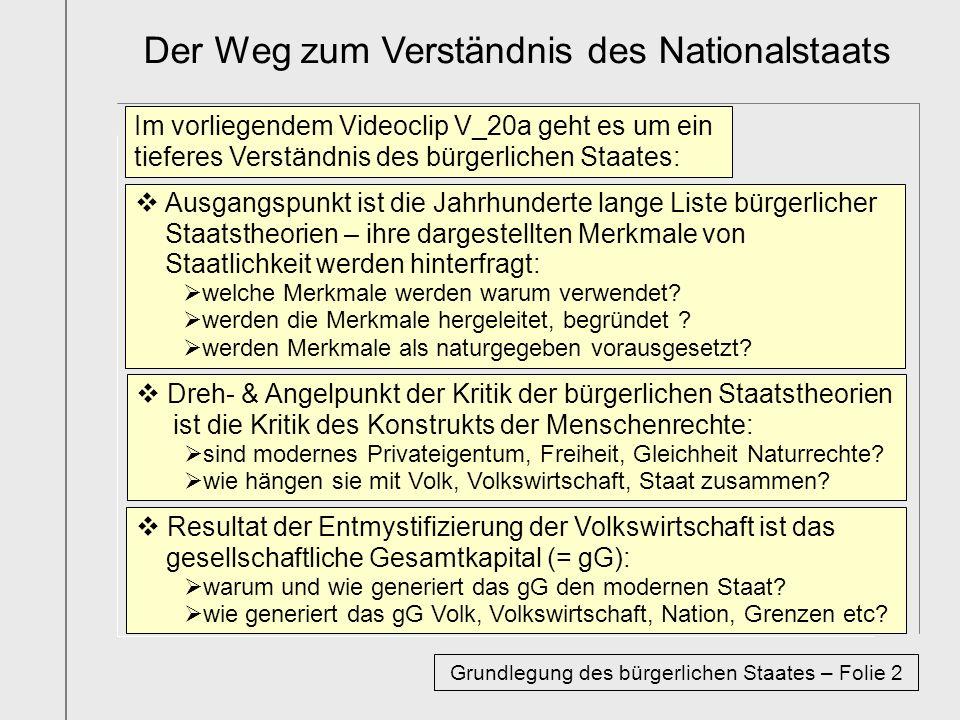 www.mxks.de Zu den Bestimmungen des bürgerlichen Staates
