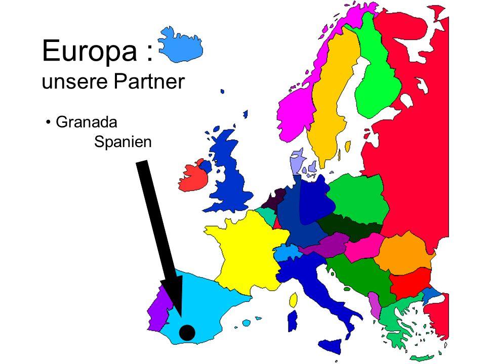 Europa : unsere Partner Granada Spanien