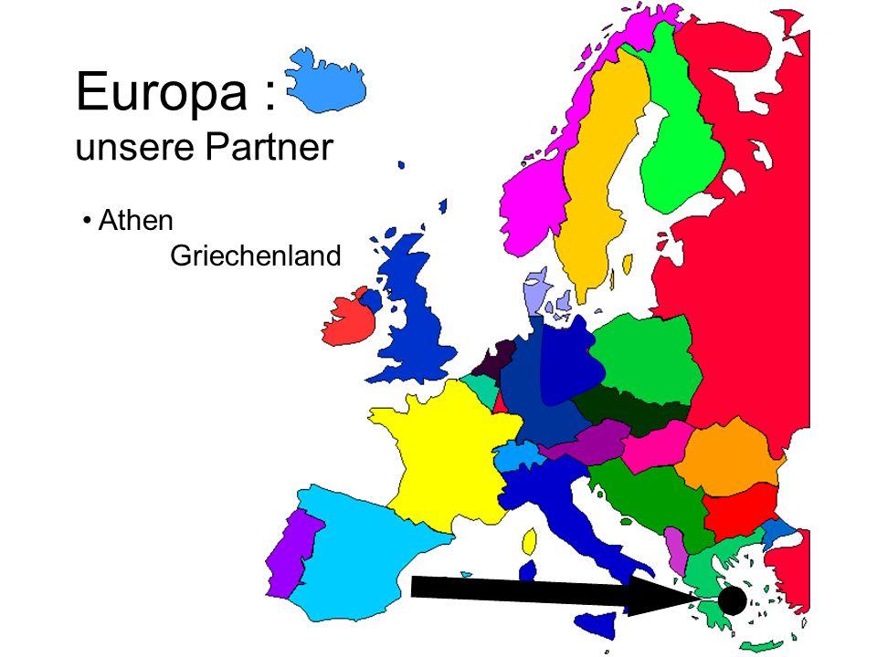 Europa : unsere Partner Athen Griechenland