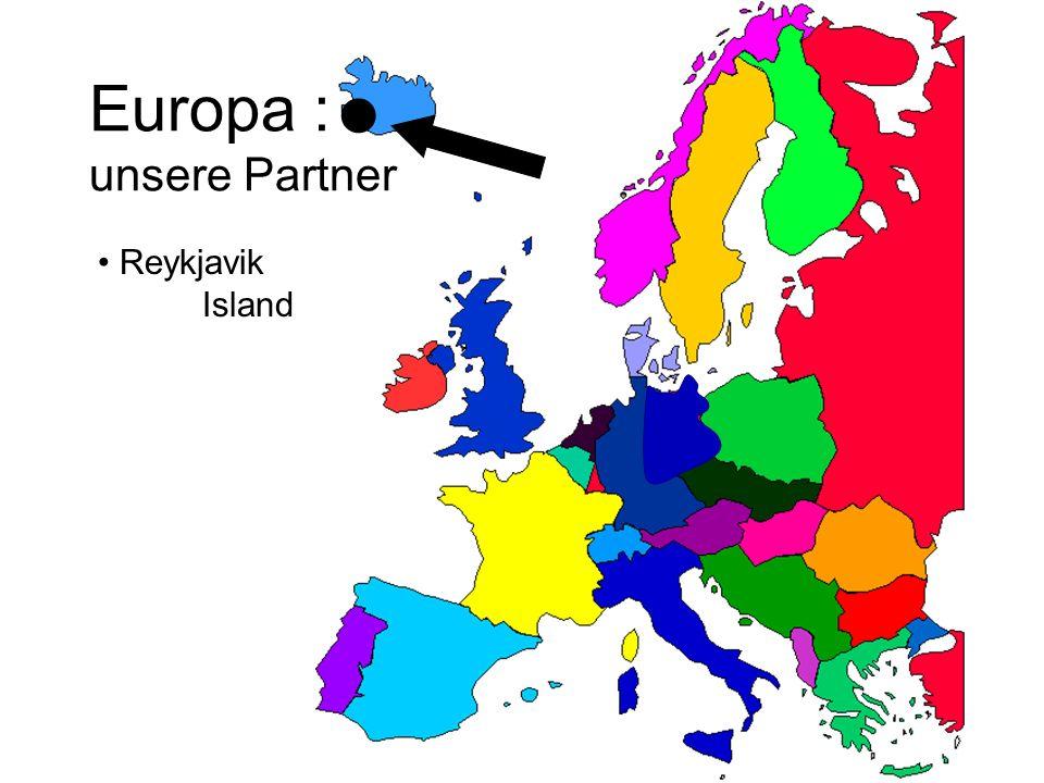 Europa : unsere Partner Oulu Finnland