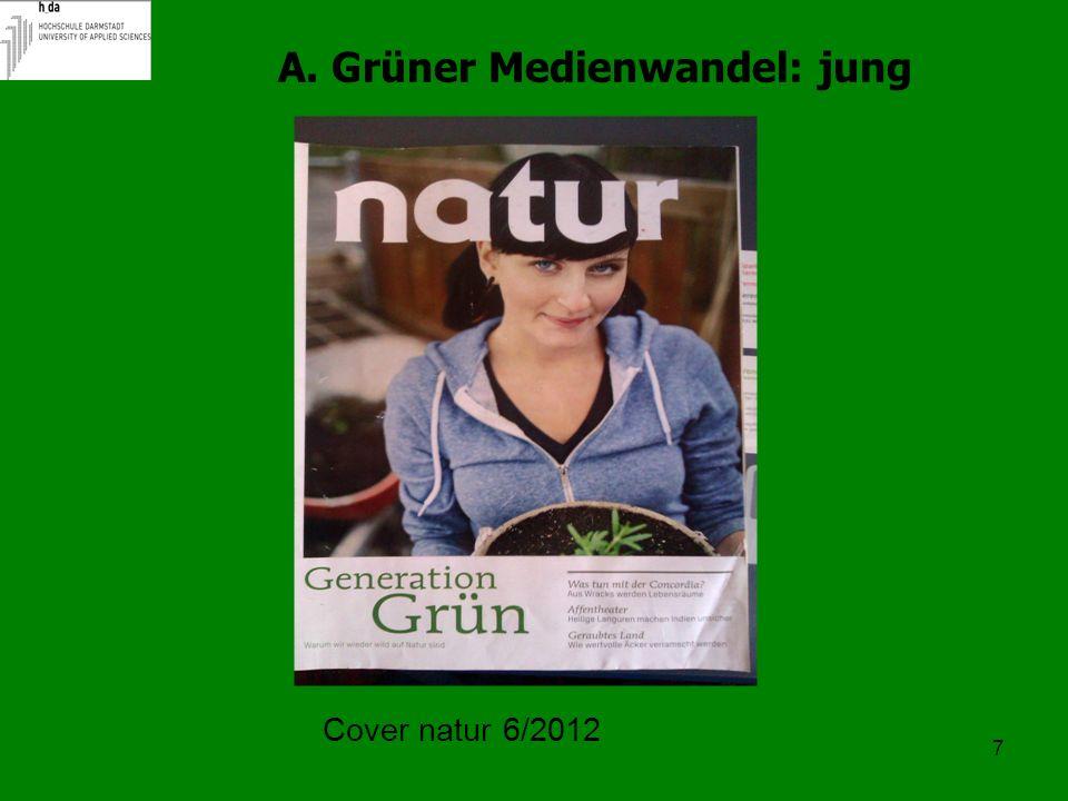 NH = werbeträchtig, Lifestyle Greenwashing Begriff abgedroschen= unklar für Leser und Journalisten Prof.