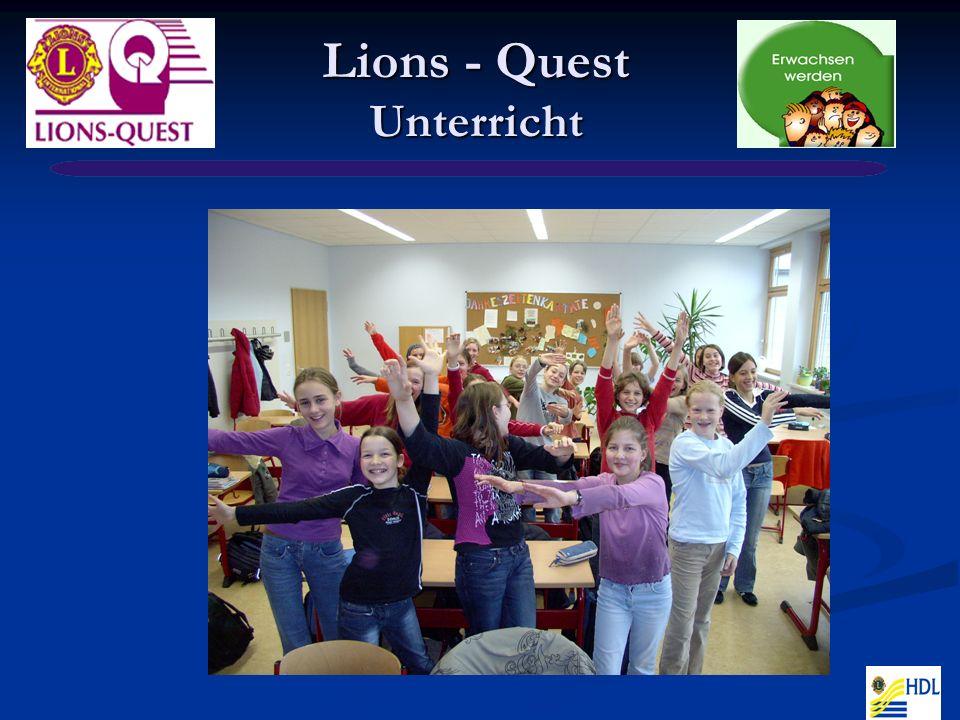 Lions - Quest Unterricht