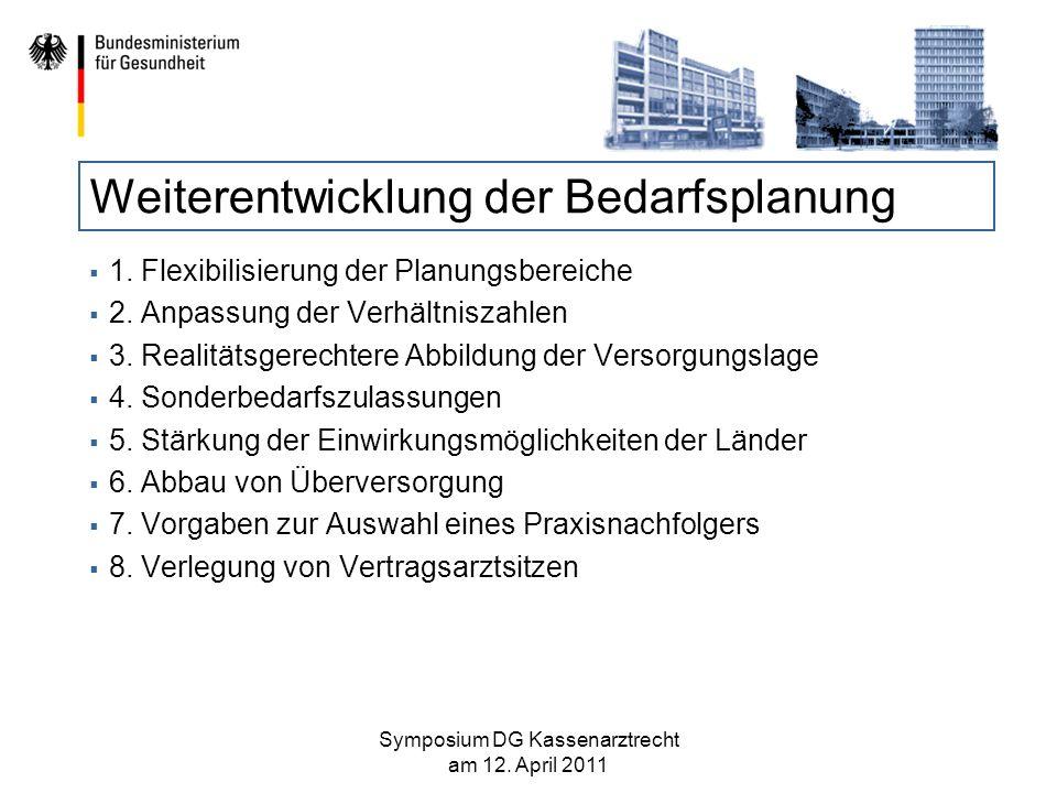 Medizinische Versorgungszentren Politische Vorgabe des Koalitionsvertrages: MVZ sollen nur unter bestimmten Voraussetzungen zugelassen werden.