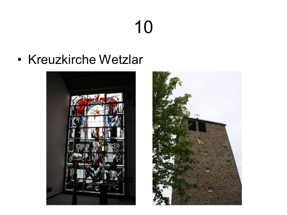 10 Kreuzkirche Wetzlar