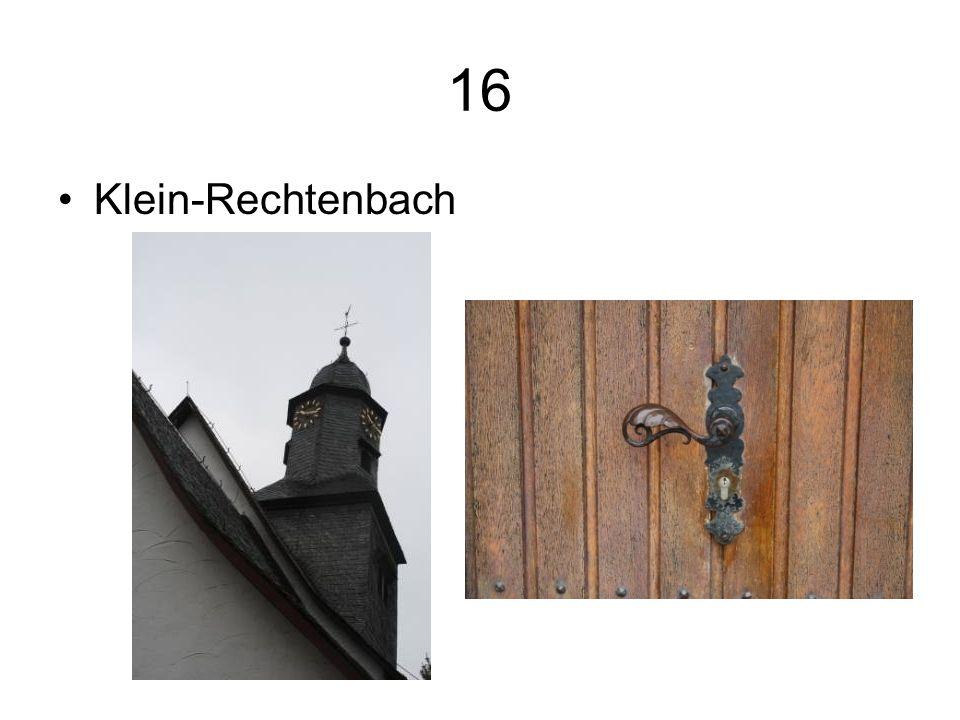 16 Klein-Rechtenbach