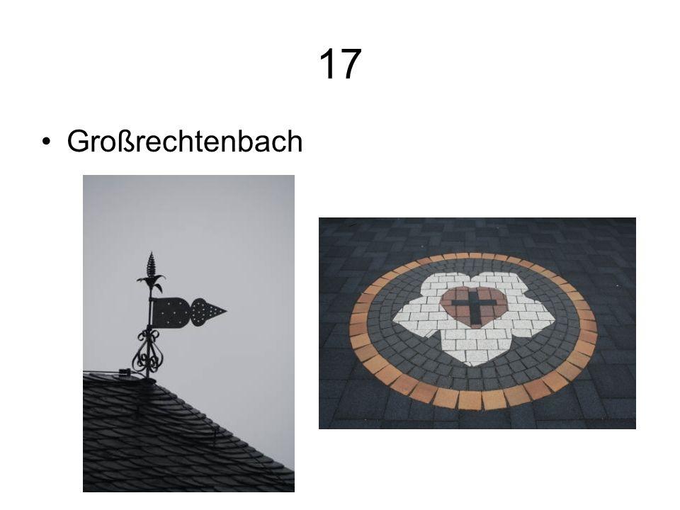 17 Großrechtenbach