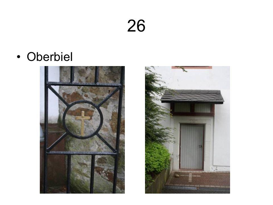 26 Oberbiel
