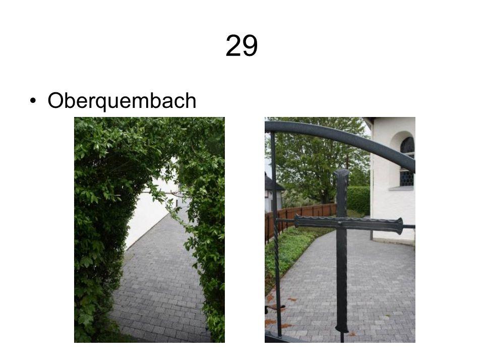 29 Oberquembach