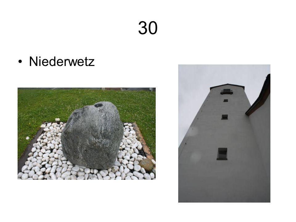 30 Niederwetz