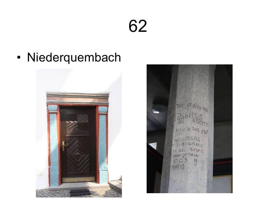 62 Niederquembach