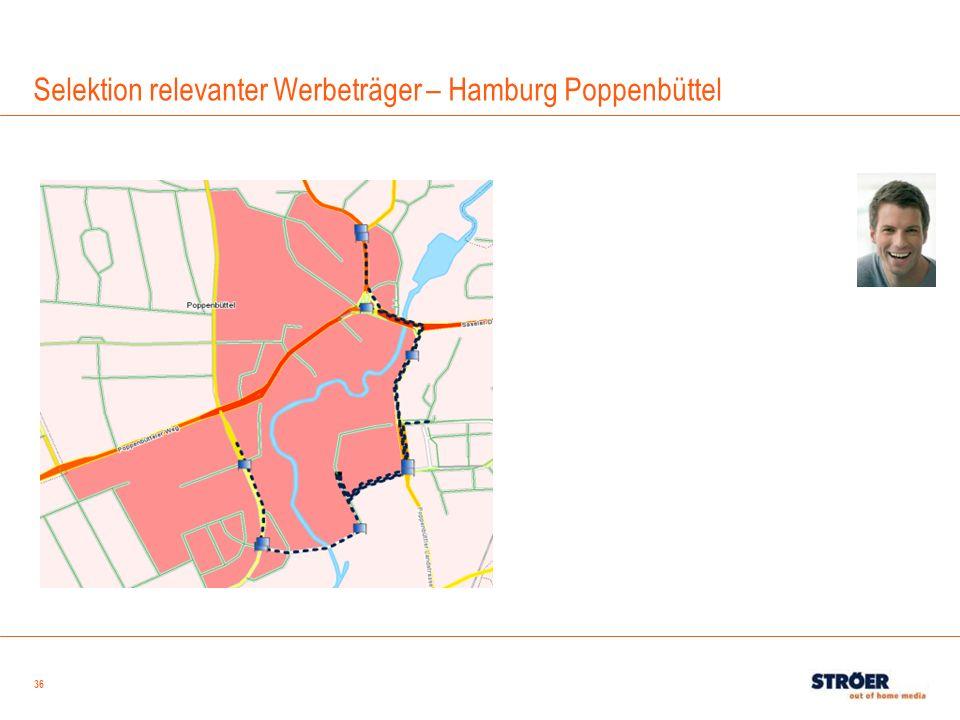 36 Selektion relevanter Werbeträger – Hamburg Poppenbüttel
