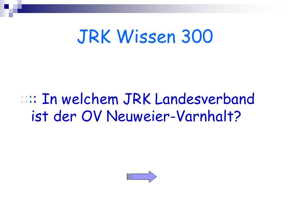 JRK Wissen 300 :::: In welchem JRK Landesverband ist der OV Neuweier-Varnhalt?