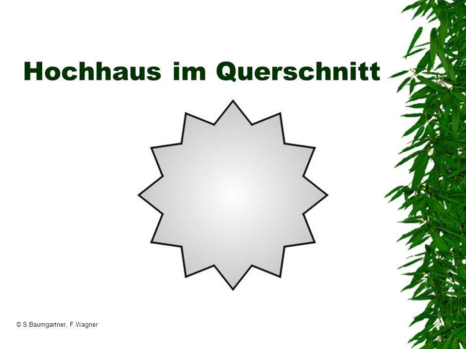 © S.Baumgartner, F.Wagner Hochhaus im Querschnitt