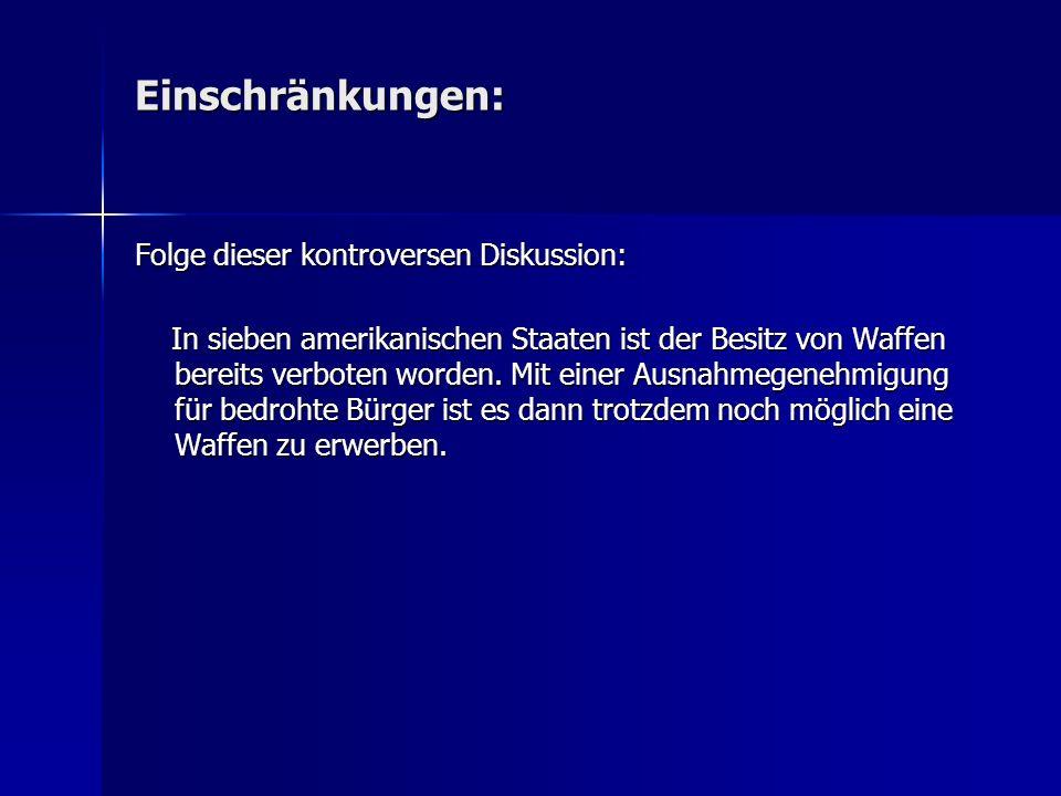 Hintergrund: Waffenschein und Waffenbesitzkarte Erwerb nur unter strengen Auflagen möglich Wer in Deutschland legal eine Waffe kaufen will, muss laut Gesetz eine Waffenbesitzkarte (WBK) oder einen Waffenschein erwerben, die von den örtlichen Behörden nur unter strengen Auflagen ausgestellt werden.