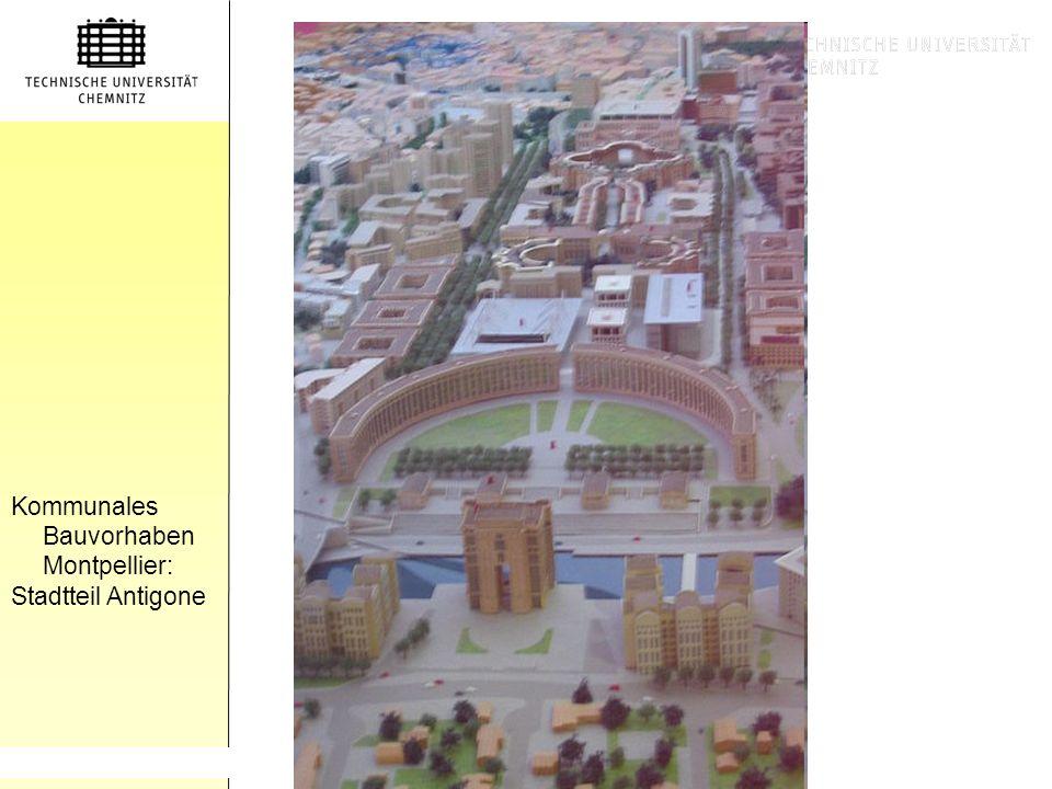 Gliederung Kommunales Bauvorhaben Montpellier: Stadtteil Antigone TEXT (2) http://dic.academic.ru/pictures/dewiki/69/Europapassage_innen.jpg (1) http: