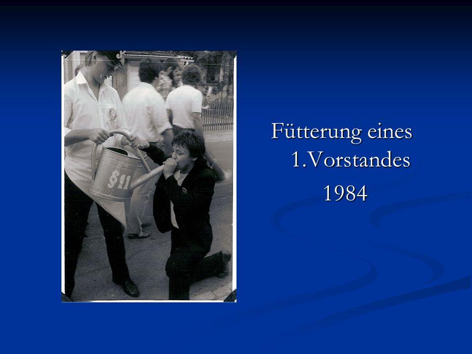 Fütterung eines 1.Vorstandes 1984 1984