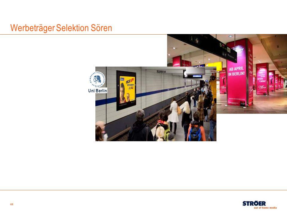 44 Werbeträger Selektion Sören Uni Berlin Szene