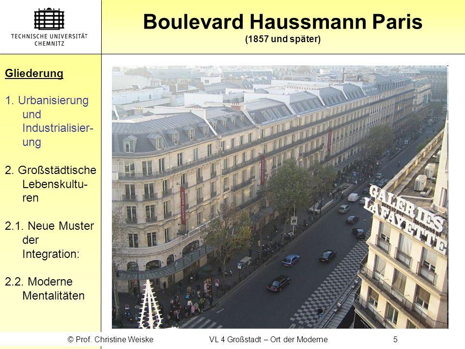 Gliederung 1.Urbanisierung und Industrialisier- ung 2.