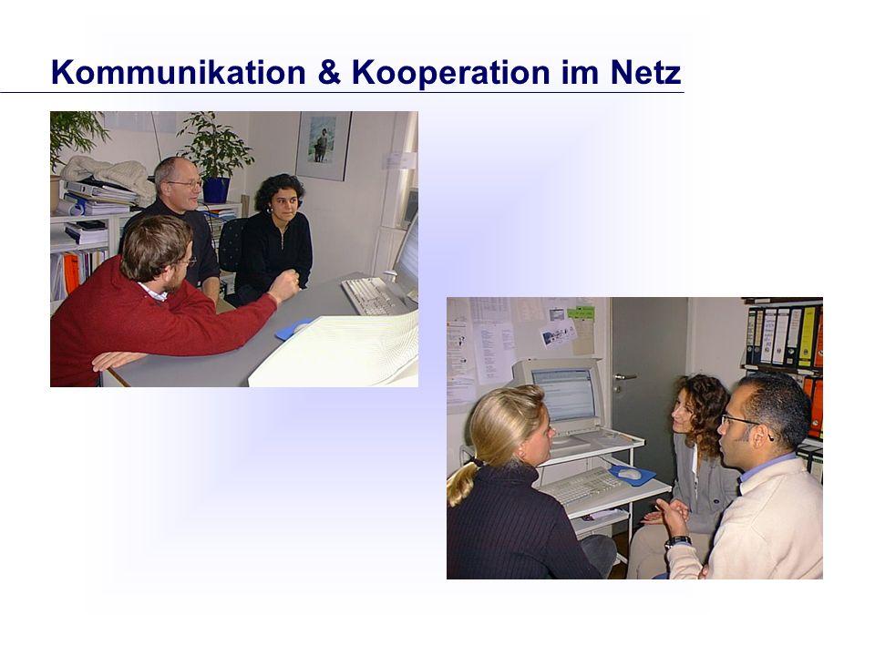 Kommunikation & Kooperation im Netz