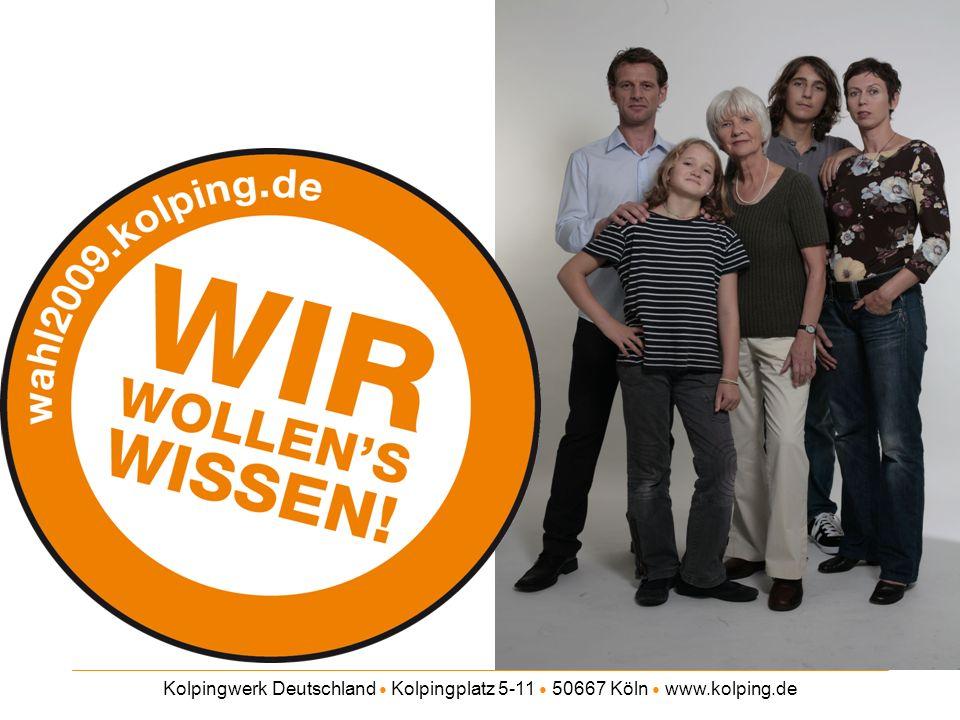 Kolpingwerk Deutschland Kolpingplatz 5-11 50667 Köln www.kolping.de