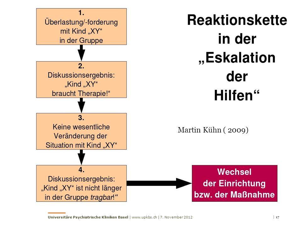 Martin Kühn ( 2009) | 177. November 2012Universitäre Psychiatrische Kliniken Basel | www.upkbs.ch |
