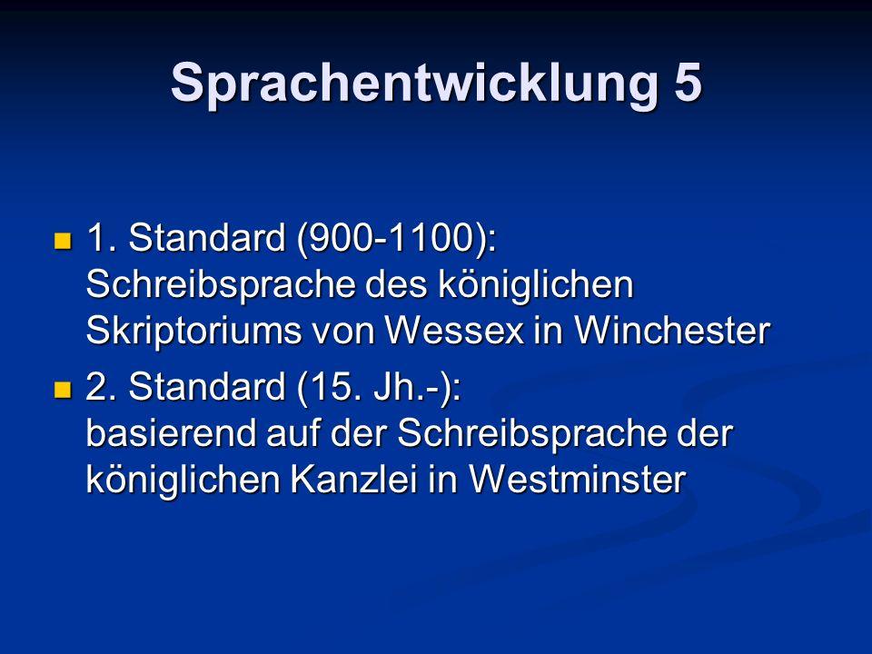 Sprachentwicklung 5 1.