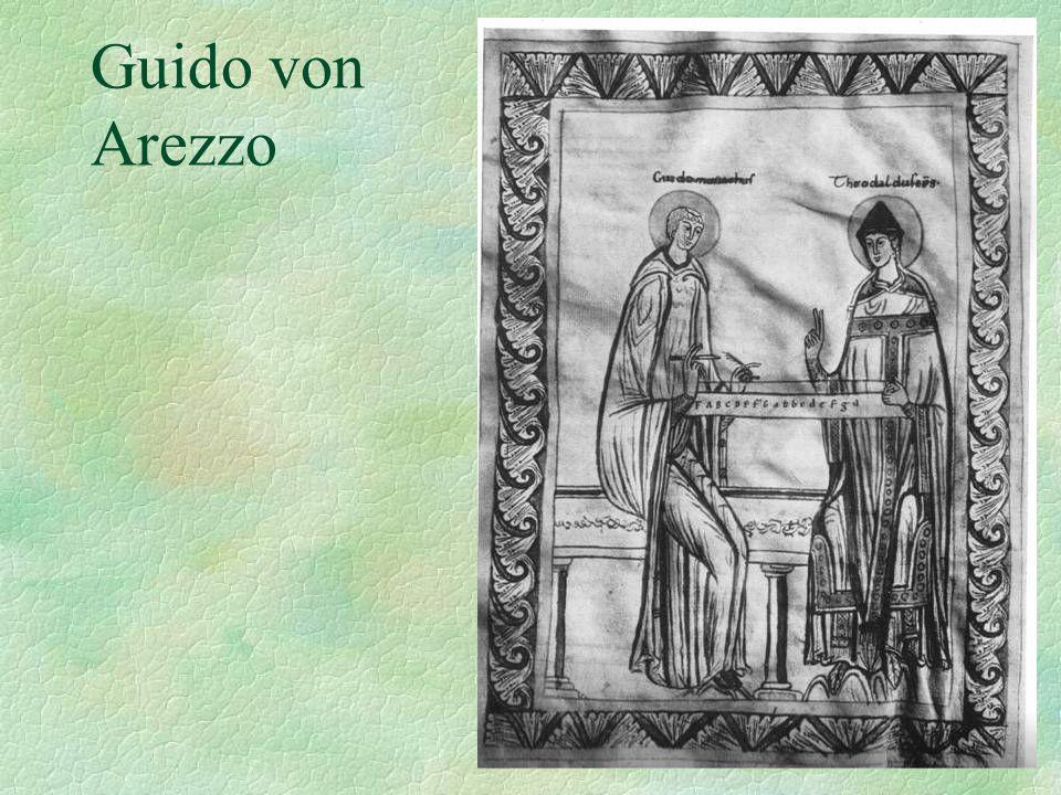 Guido von Arezzo