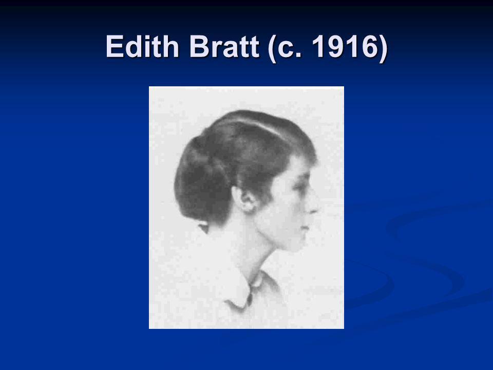 Edith Bratt (c. 1916)