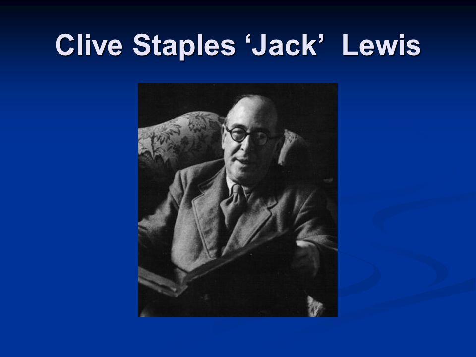 Clive Staples Jack Lewis