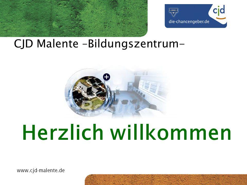 CJD-Musterstadt CJD Malente –Bildungszentrum- Herzlich willkommen www.cjd-malente.de