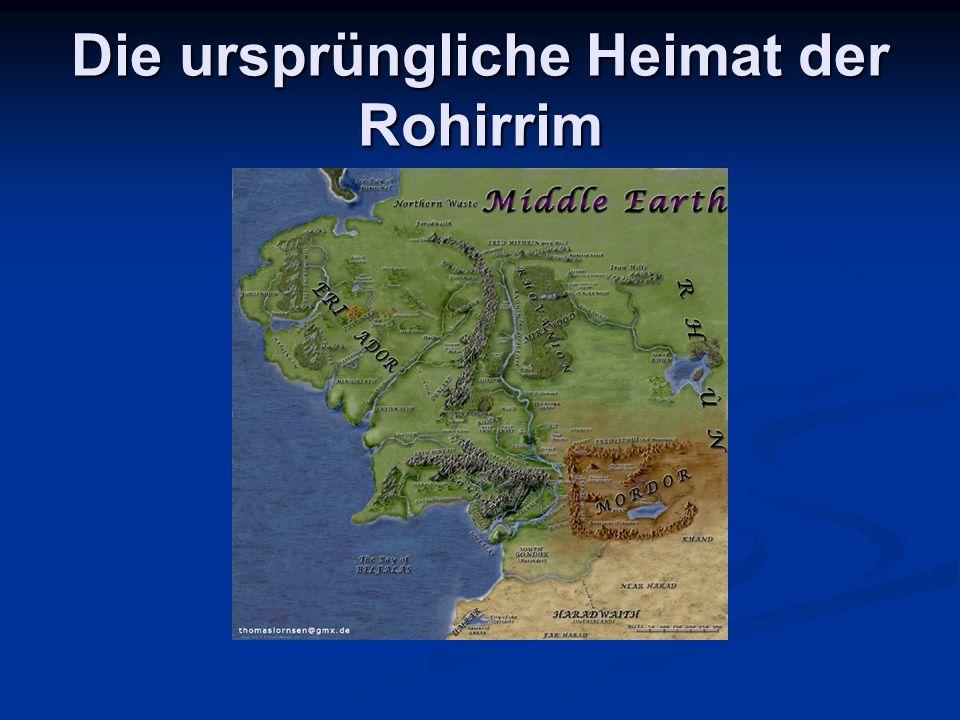 Die Rohirrim im HdR 3 Schließlich konnte selbst Gimli den fernen Hufschlag galoppierender Pferde hören.