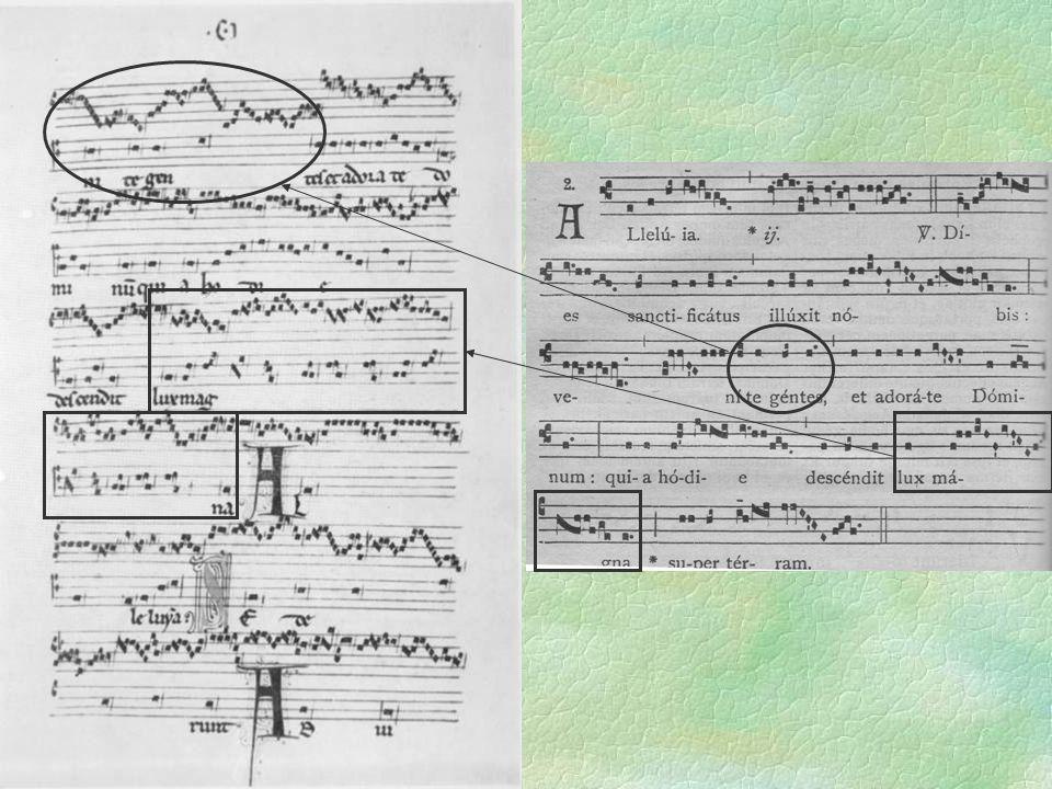 Organum in F Clausel-Sammlung in F