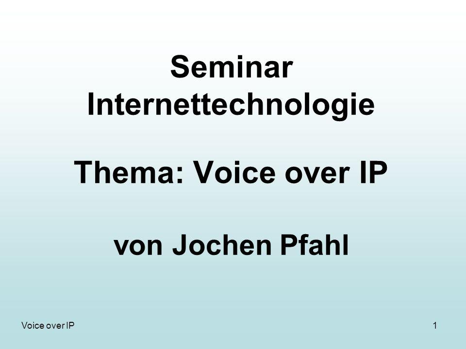 12Voice over IP SIP (Session Initiation Protocol) (6) Quelle: VoIPSEC-Studie SIP-Nachricht: