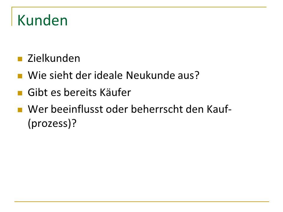 Problem / Gelegenheit Beschreibung des Problems (für die Zielkunden) Wie lösen die Kunden dieses Problem heute.