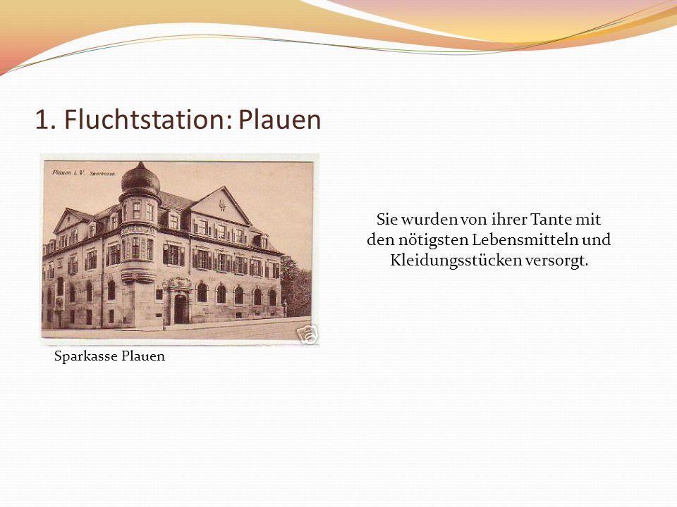 Doch auch Plauen wurde 1944 fast vollkommen zerstört.