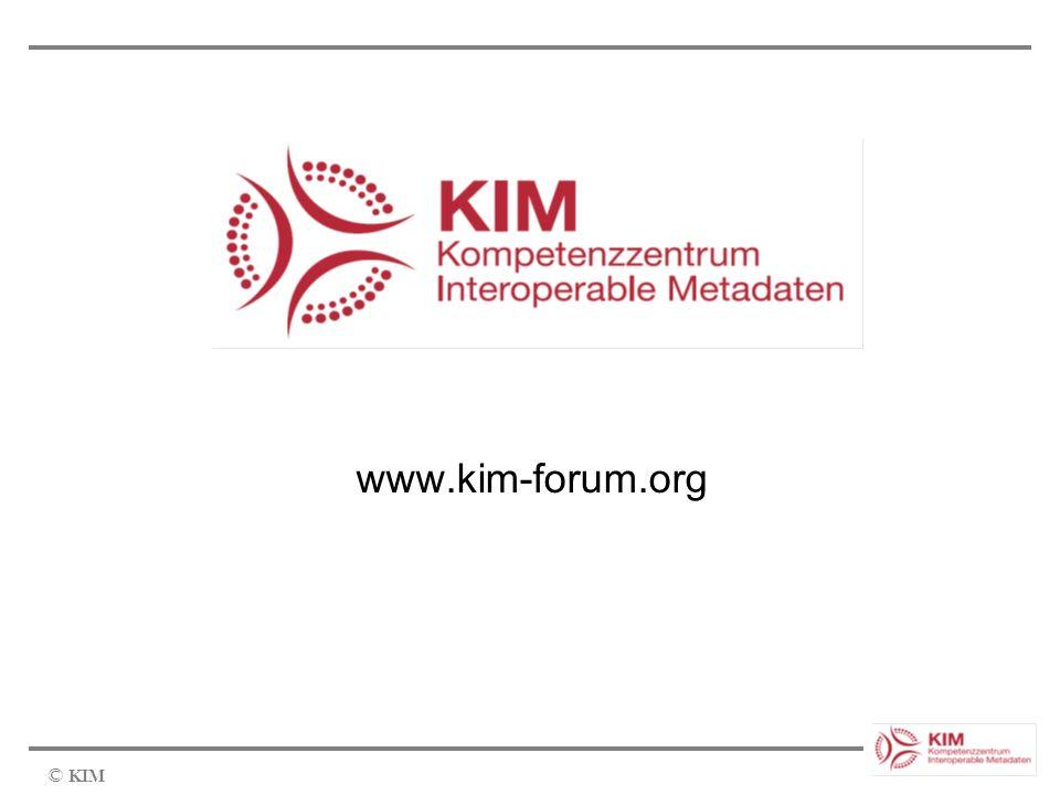 © KIM www.kim-forum.org