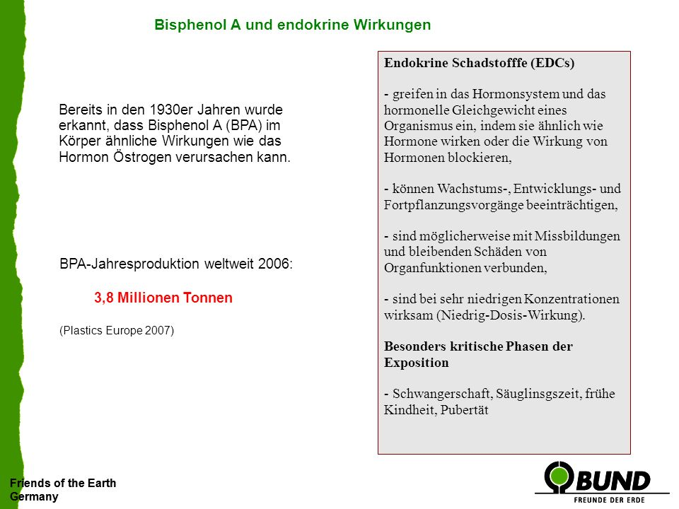 Friends of the Earth Germany Friends of the Earth Germany Sind über 200 Studien irrelevant?