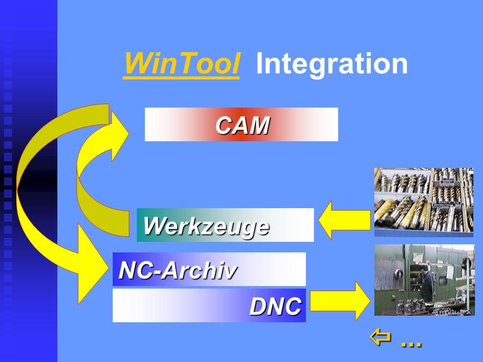 WinTool Integration...