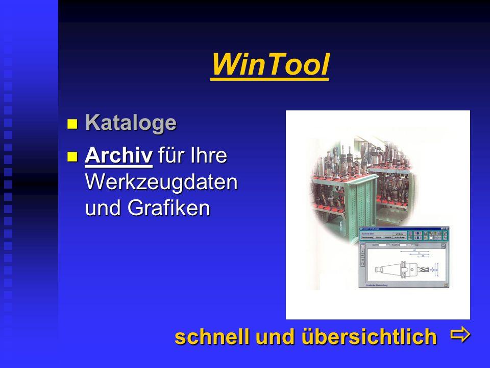 WinTool Kataloge......