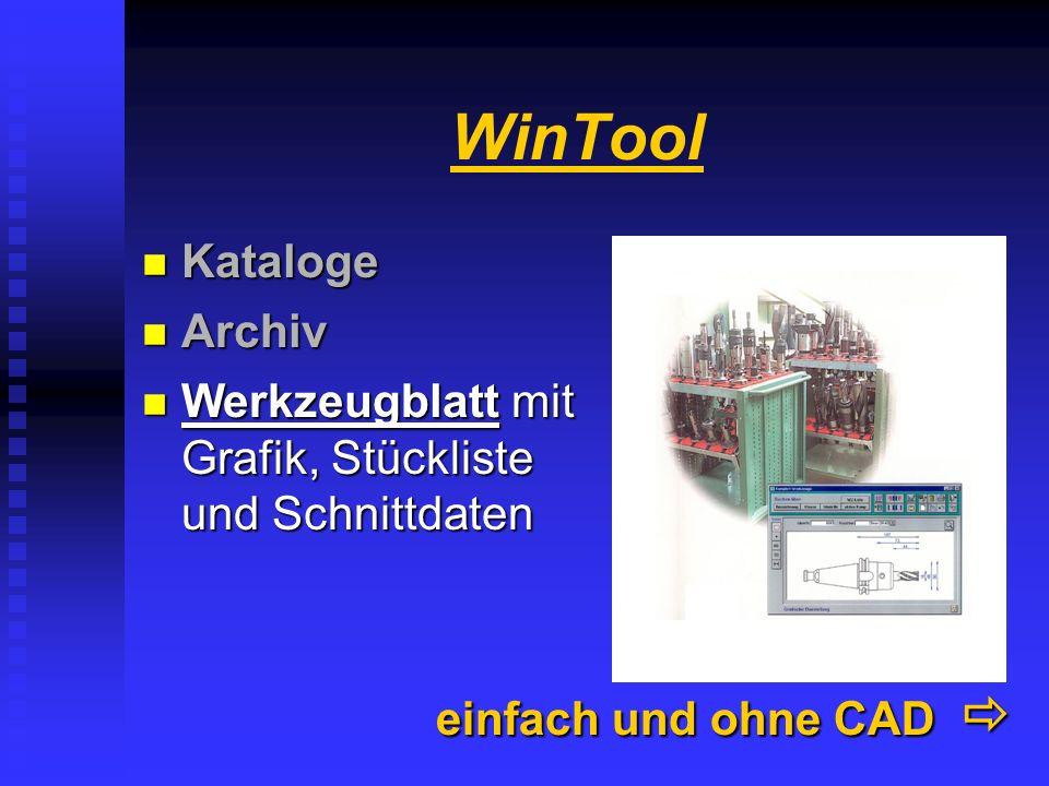 WinTool Komponenten......