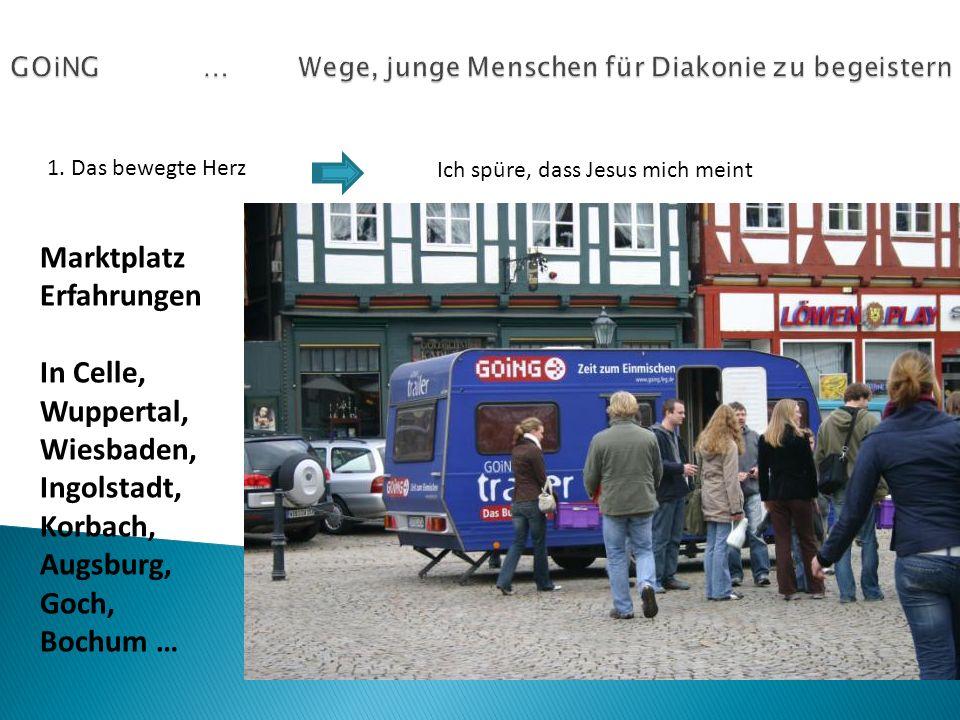 1. Das bewegte Herz Ich spüre, dass Jesus mich meint Marktplatz Erfahrungen In Celle, Wuppertal, Wiesbaden, Ingolstadt, Korbach, Augsburg, Goch, Bochu