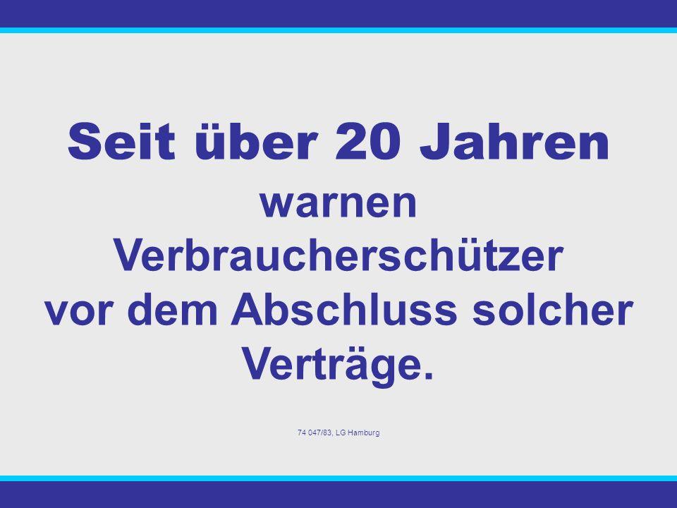 Das Bundesverfassungsgericht in Karlsruhe hat am 26. Juli 2005 bestimmte Teile der Geschäftspraxis der Versicherungsunternehmen aus - Kapitallebensver