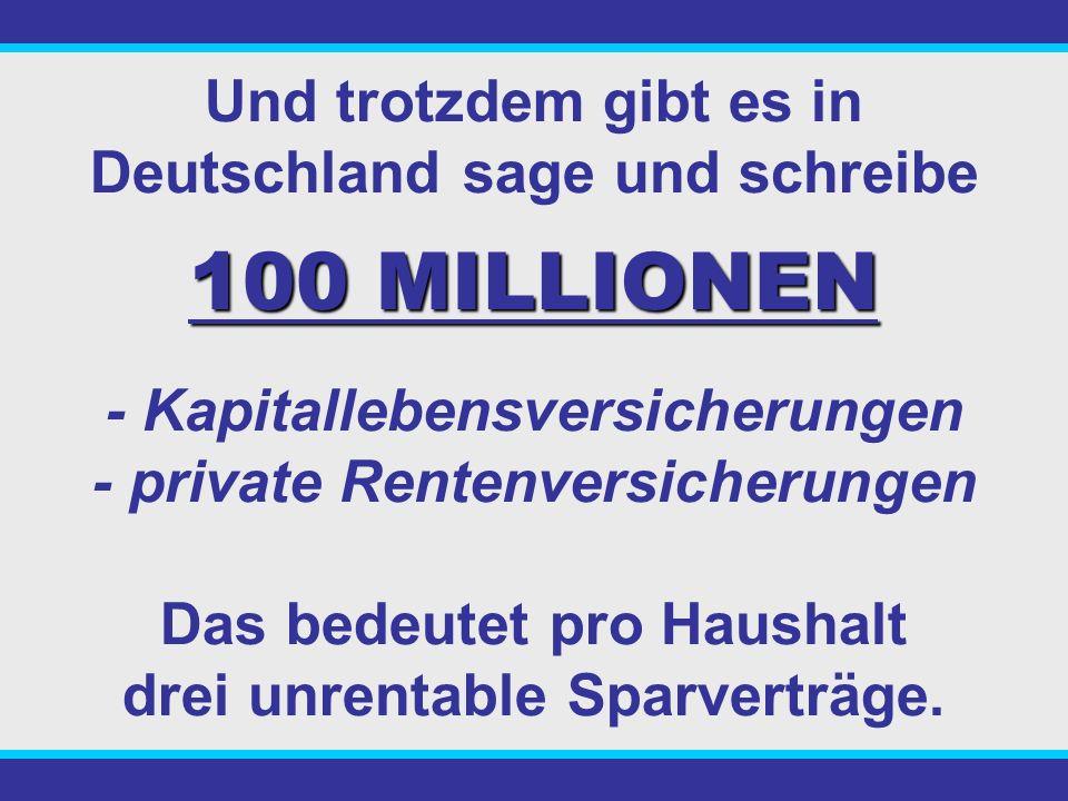 Seit über 20 Jahren warnen Verbraucherschützer vor dem Abschluss solcher Verträge. 74 047/83, LG Hamburg