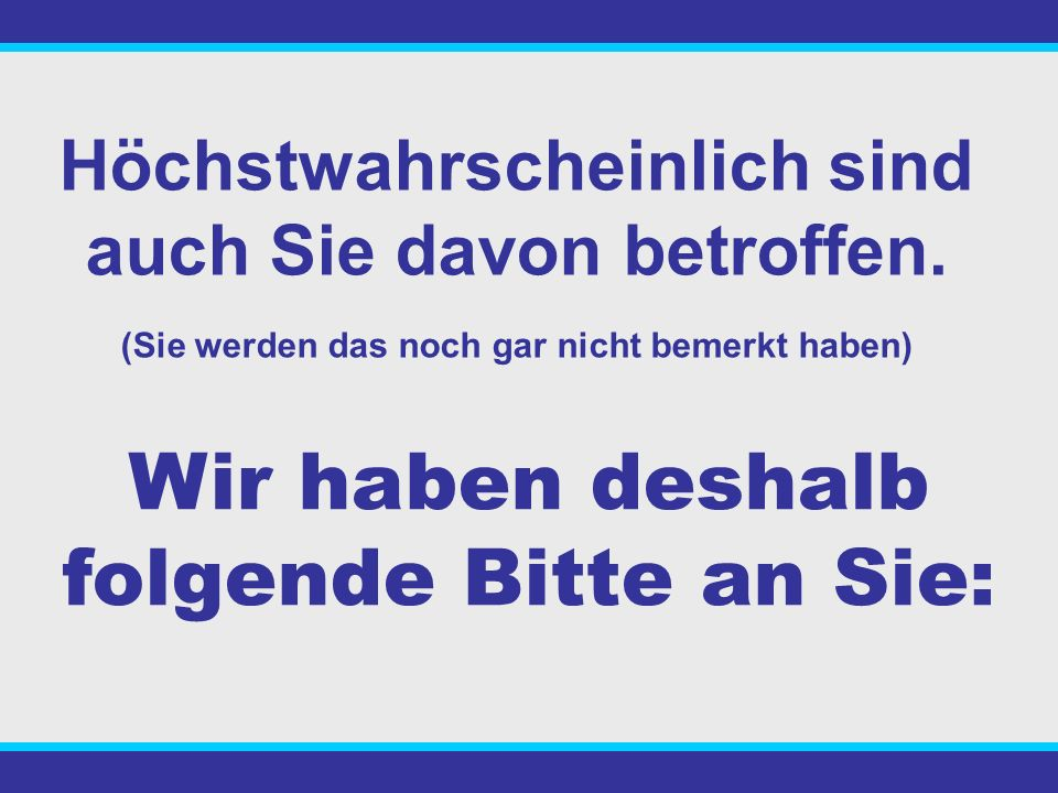 Und trotzdem gibt es in Deutschland sage und schreibe 100 MILLIONEN - Kapitallebensversicherungen - private Rentenversicherungen Das bedeutet pro Haus