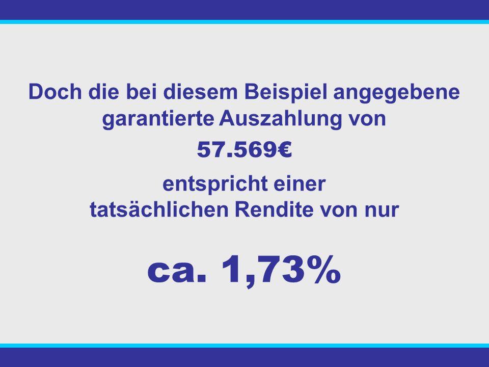 Unsere Meinung: Deutsche Lebensversicherer werben damit, dass ihre Kunden bei Kapitallebensversicherungen und privaten Rentenversicherungen eine Garan