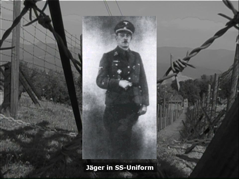 Jäger in SS-Uniform