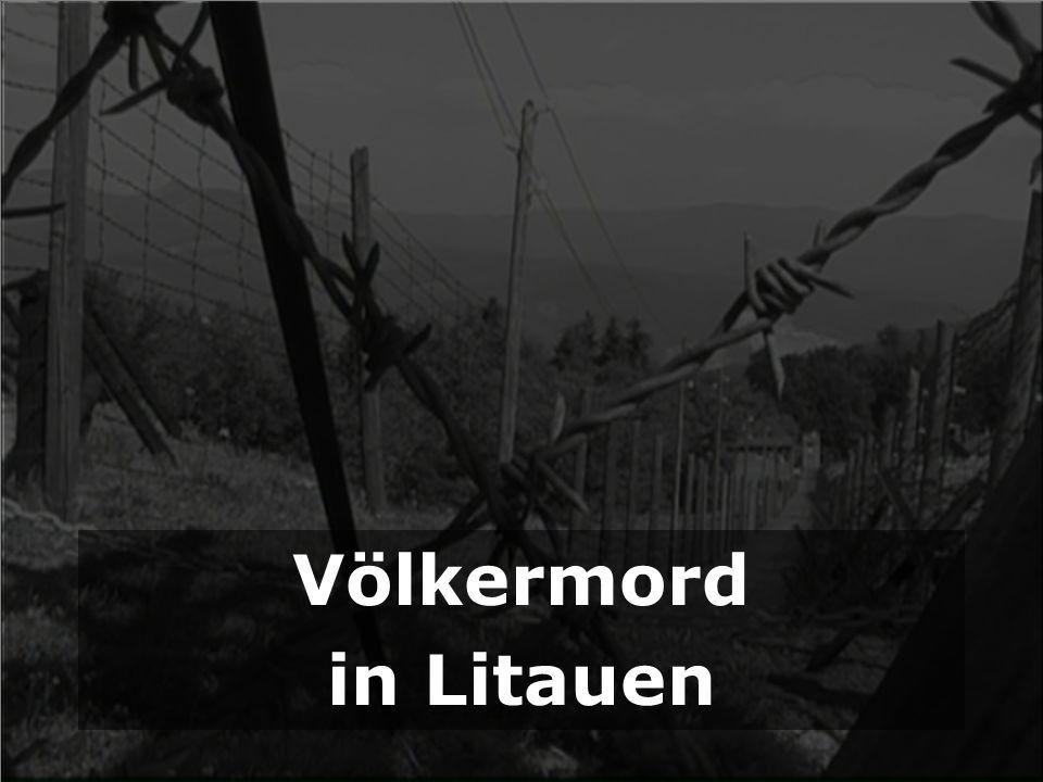 Völkermord in Litauen